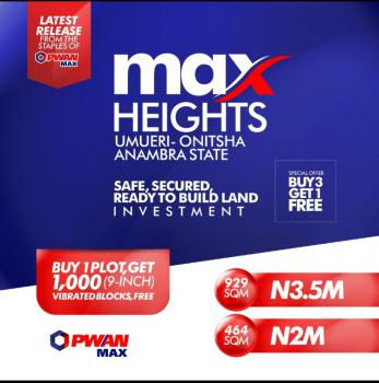 Dry Land, Max Height Estate, Onitsha, Anambra, Land for Sale