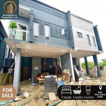 Newly Built 4 Bedroom Terrace Duplex, 2nd Toll Gate, Lekki Phase 2, Lekki, Lagos, Terraced Duplex for Sale