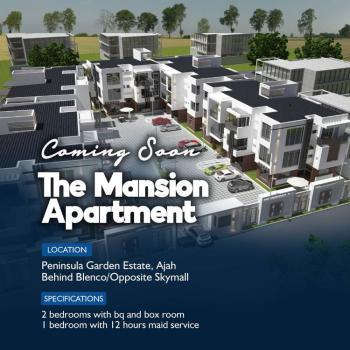 Spacious 2 Bedrooms with Bq & Box Room, Peninsula Garden Estate, Ajah, Lagos, Flat for Sale