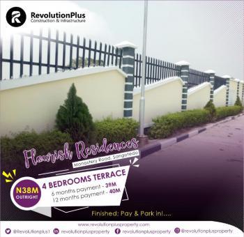 Beautiful Luxury 4 Bedroom Semi-detached Duplex at Flourish Residence, Sangotedo, Ajah, Lagos, Semi-detached Duplex for Sale