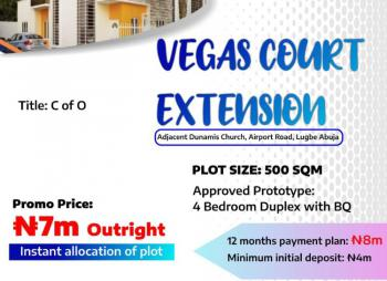Dry Land, Vegas Court Extension, Lugbe District, Abuja, Land for Sale