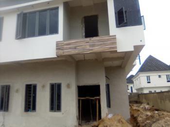 65 % Completed 4 Bedroom Semi-detached Duplex with Bq, Chevron, Lekki Phase 2, Lekki, Lagos, Semi-detached Duplex for Sale