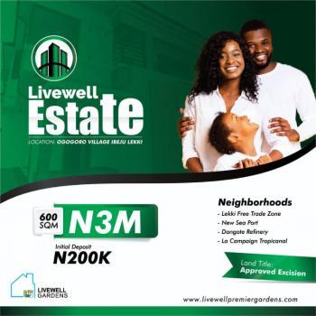 Land, Livewell Estate, Ogogoro, Ibeju Lekki, Lagos, Mixed-use Land for Sale