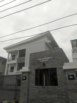 Fully Fitted Four Bedroom Apartment, Kebbi Street, Osborne Foreshore, Osborne, Ikoyi, Lagos, Terraced Duplex for Rent