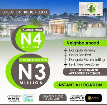 Livewell Estate, Otolu Town, Ogogoro, Ibeju Lekki, Lagos, Residential Land for Sale