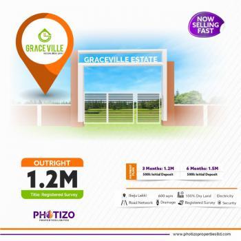 Dry Land, Graceville Estate, Opposite Lacampaigne Tropicana Resort, Ikegun, Ibeju Lekki, Lagos, Residential Land for Sale