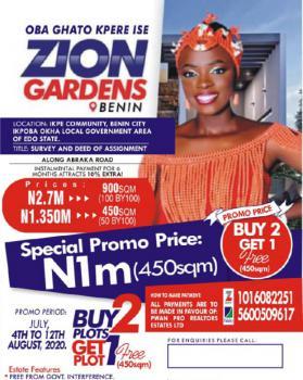 Estate Land, Okpoba Okha Abraka Road, Benin, Oredo, Edo, Residential Land for Sale