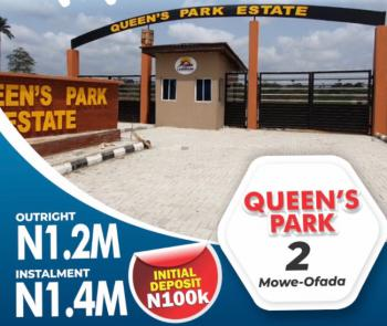 Estate Land with C of O and Convenient Payment Plan, Mowe Ofada, Ogun, Residential Land for Sale