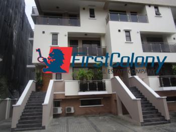 3 Bedroom Terrace Duplex with Excellent Facilities, Off 2nd Avenue, Old Ikoyi, Ikoyi, Lagos, Terraced Duplex for Rent