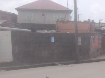 Bungalow with Uncompleted Building on a Plot of Land, Vincent Street, Off Alimosho Road, Alimosho, Lagos, Detached Bungalow for Sale
