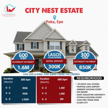 Dry Land in Estate, Epe, Lagos, Residential Land for Sale