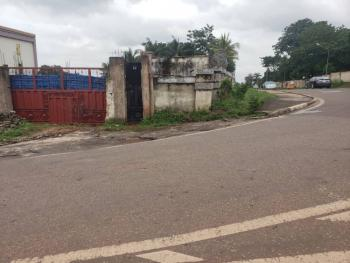 Strategic Corner Plots of Land Fenced with Gate (cofo), Beside Maxbe Hotels,nza Street Junction Towards Govt House, Independence Layout, Enugu, Enugu, Mixed-use Land for Sale