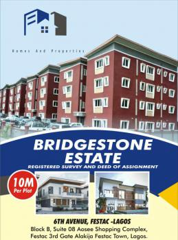 a Plot of Land  Is Available with Great Title., 6 Th Avenue., Festac, Amuwo Odofin, Lagos, Residential Land for Sale