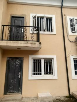 Clean 3 Bedroom Terrace Duplex with a Bq, Canal Estate, Yaba, Lagos, Terraced Duplex for Rent