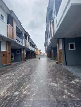Newly Built 4 Bedroom Terraced Duplex, Chevron, Lekki, Lagos, Terraced Duplex for Rent