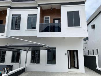 Well Built and Secured 4 Bedroom Semi Detached in a Serviced Estate., Chevron, Lekki Expressway, Lekki, Lagos, Semi-detached Duplex for Sale