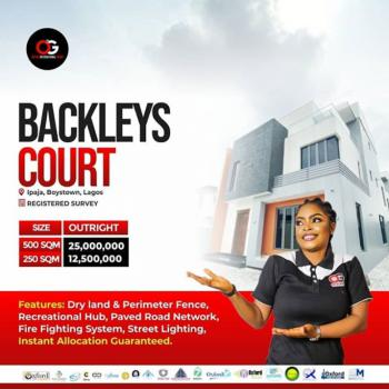 Own Barclays Court., Barclays Court, Boys Town, Ipaja, Lagos, Mixed-use Land for Sale