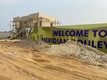 Land with Governors Consent., Meridian Boulevard Estate, Abraham Adesanya Road, Okun Ajah, Ogombo, Ajah, Lagos, Residential Land for Sale