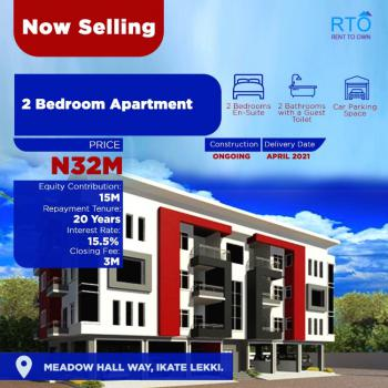 Topnotch Luxury Finnished 2 Bedroom Apartment, Deposit N15m & Move in, Meadow Hallway,beside Richmond Estate,rent to Own Mortgage 2-20 Years, Ikate Elegushi, Lekki, Lagos, Flat for Sale