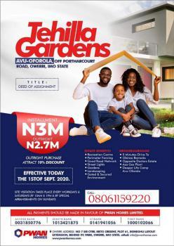 Tehilla Gardens Avu, Tehilla Gardens Avu Obosima, Avu, Owerri, Imo, Residential Land for Sale