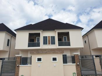 Neatly Built 4 Bedroom Semi Detached with Bq and 24hrs Light, Orchid Road, Lafiaji, Lekki, Lagos, Semi-detached Duplex for Sale