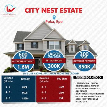 Citynest Estate, Poka, Epe, Lagos, Residential Land for Sale