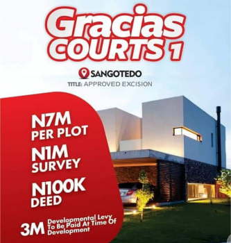 Cheapest Land, Sangotedo, Ajah, Lagos, Land for Sale