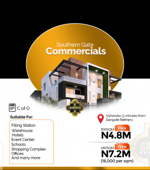 Looking for a Commercial Plot for Business Purpose? Now You Have It., Osoroko, Ibeju Lekki, Lagos, Commercial Land for Sale