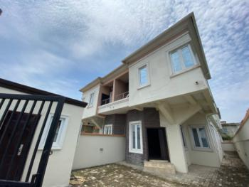 Four Bedroom Semi Detached Duplex with Bq and Box Room, Ologolo Just After Osapa London Before Chevron, Ologolo, Lekki, Lagos, Semi-detached Duplex for Sale