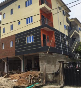Executive and Newly Built 3 Bedroom Flat with a Maid Room Bq, Cctv, Alagomeji, Yaba, Lagos, Block of Flats for Sale
