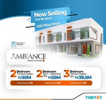 Luxury 3 Bedroom Terrace Duplex with Bq Is Available, Atlantic Layout Estate, Lekki Expressway, Lekki, Lagos, Terraced Duplex for Sale