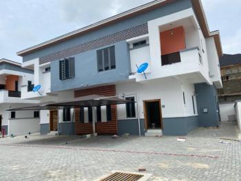 Serviced 4 Bedrooms Semi Detached Duplex with Bq & Pool, Chevron, Lekki, Lagos, Semi-detached Duplex for Sale