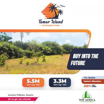 Excellent Plots of Land with Perfect Document, Tamar Island, By Dangote Jetty, Beside New Lekki Town, Ibeju Lekki, Itamarun, Ibeju Lekki, Lagos, Residential Land for Sale