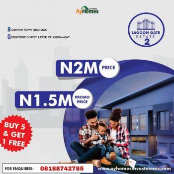 Lagoon Gate Waterfront Estate, Waterfront Estate After New Lekki Sea Port, Ibeju, Lagos, Residential Land for Sale