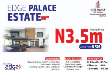 Edge Palace, 5 Minutes Drive Before The Dangote Refinery, Via Lekki-epe Expressway., Akodo Ise, Ibeju Lekki, Lagos, Residential Land for Sale