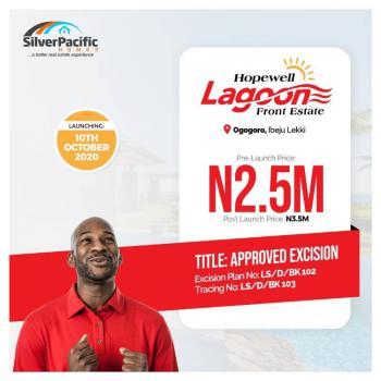 Land, Hopewell Lagoon Front Estate, Ogogoro, Ibeju Lekki, Lagos, Mixed-use Land for Sale