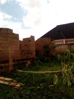 2 Bedroom Uncompleted Bungalow., Alagbaka Extension Beside Police Post, Akure, Ondo, Residential Land for Sale
