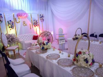 Hall for Various Occasions, 7, Razak Balogun Street, Off Adebola Street, Adeniran Ogunsanya, Surulere, Lagos, Hall for Rent