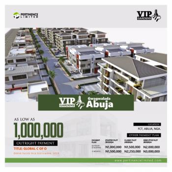 Executive Plot of Land, Vip Garden, Gwagwalada, Abuja, Residential Land for Sale