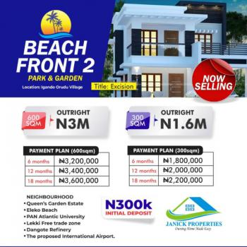 Affordable Beach Front Land with Amazing  Facilities, Eleko, Ibeju Lekki, Lagos, Residential Land for Sale