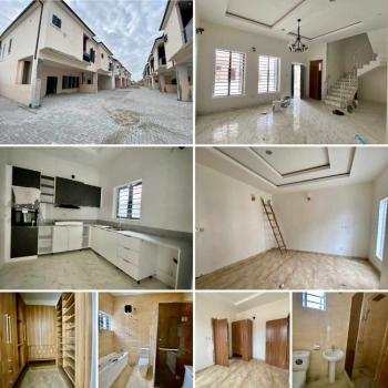 Serviced 4 Bedroom Terrace Duplex All Rooms Ensuit with Pop Finishing, Ikota, Lekki, Lagos, Terraced Duplex for Rent