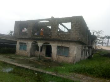 Two Units of Three Bedrooms Flat and Five Bedrooms Flat Up., Badore, Ajah, Lagos, Block of Flats for Sale