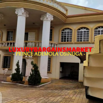 8 Bedrooms Fully Detached Mansion Plus Private Pool Etc, Ikoyi, Lagos, Detached Duplex for Sale