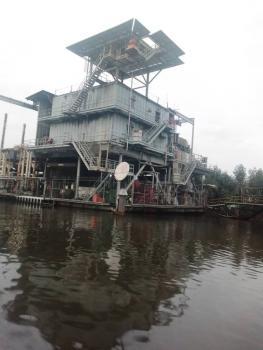 Floating Gas Plant., Degema Lga, Degema, Rivers, Industrial Land for Sale