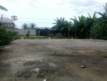 4 Plots of Well Located and Fenced Dry Land., Eliopranwo Road., Rumolumeni, Port Harcourt, Rivers, Residential Land for Sale