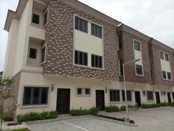 Serviced New 4 Bedroom Terraced Duplex, Mini Estate at Osapa London, Osapa, Lekki, Lagos, Terraced Duplex for Sale