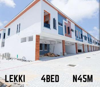 Own a Luxury Home 4 Bedroom Terrance Duplex in a Secured Estate, Lekki Phase 2, Lekki, Lagos, Terraced Duplex for Sale
