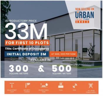 Land Now Selling at Urban Prime 3 Annex Estate, Off Ogombo Road, Ogombo, Ajah, Lagos, Residential Land for Sale