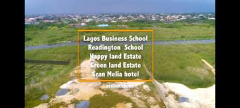 Fenced and Gated Dry Land with C of O, Fenced Dry Land with C of O Opposite Lagos Business School, Ajah, Lagos, Residential Land for Sale