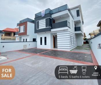 Comtemporary and Luxury Finished 5 Bedroom Detached Duplex with Pool, Lekki Phase 1, Lekki, Lagos, Detached Duplex for Sale